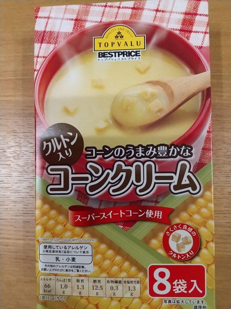 トップバリュコーンクリームスープ